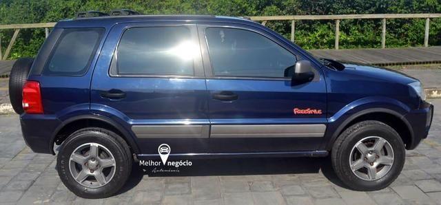 Ford Ecosport XLT FreeStyle 1.6 8v Flex Azul - Foto 3