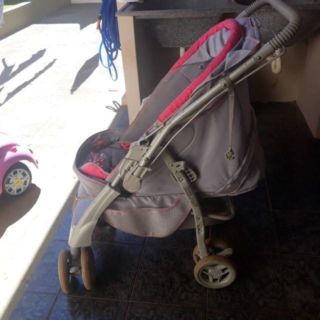 Carrinho de bebê e Berço portátil - Foto 4