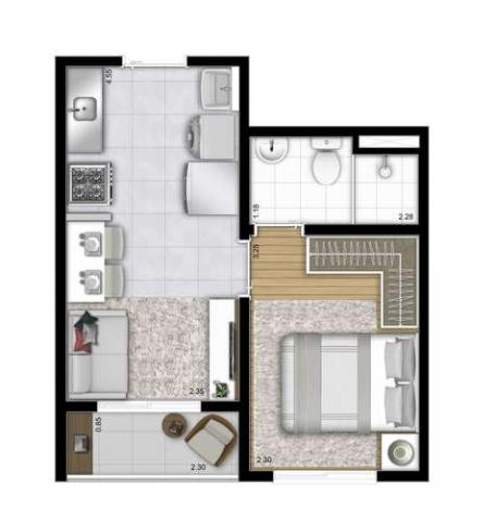 Plano&Estação Patriarca - Apartamento de 1 quarto em São Paulo, SP - Foto 11