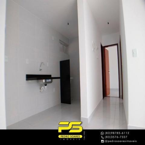 Apartamento com 2 dormitórios à venda, 60 m² por R$ 179.900 - Expedicionários - João Pesso - Foto 3