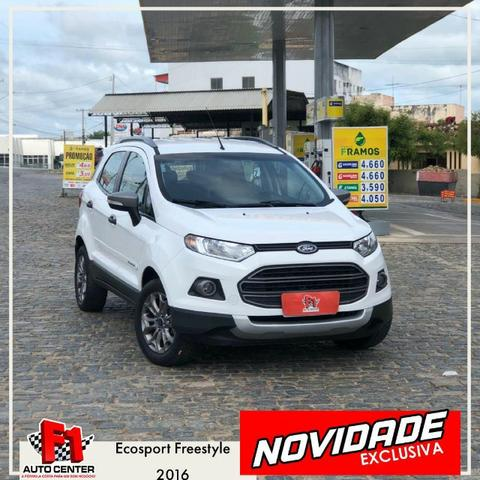 Ecosport Freestyle 1.6 (Flex) 2016,Carro Top! Atenção Emplacado 2020!!!