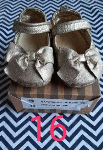Sapatilhas Infantil Couro  - Foto 5