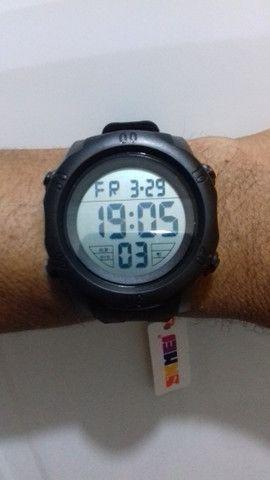 Relógio Masculino Skmei Digital - Preto a prova d água parcelamos no cartão - Foto 5
