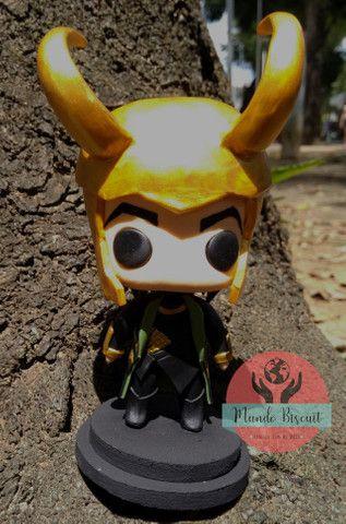 Loki da Marvel - Funko Pop Estilizado