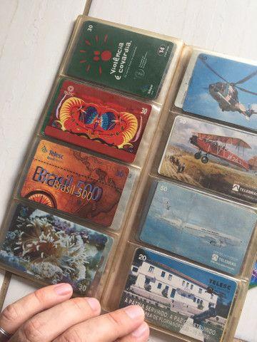 Vendo coleção de cartão telefônico - Foto 5