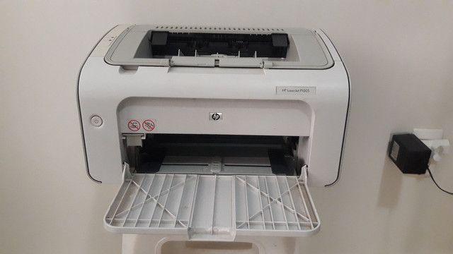 Impressora HP 1005 Conservada - Foto 2