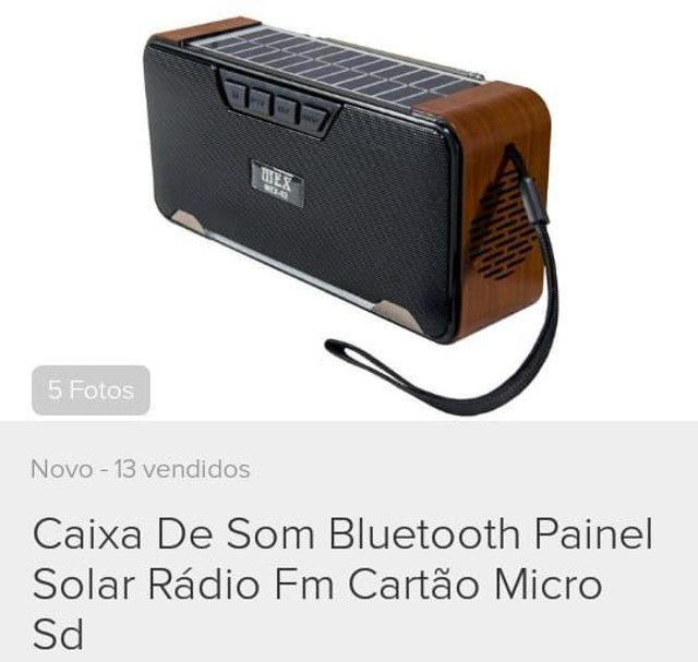 Radio solar sustentável FM Bluetooth,cartão De Memoria,pendrive