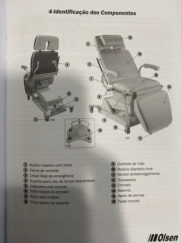 Maca ou cadeira performance olsen - Foto 5