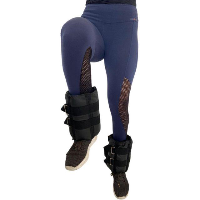 Caneleiras ajustáveis peso tornozeleiras