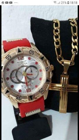 Cordão + relógio Invicta  - Foto 2