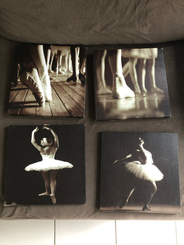Quadros de ballet