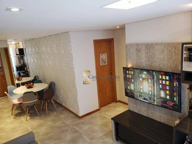 Apartamento com 2 dormitórios à venda, 70 m² por R$ 485.000,00 - Aparecida - Santos/SP - Foto 4