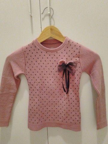 Blusas de frio menina - Foto 4