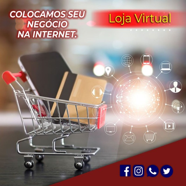 Criação de Loja Virtual - E-Commerce