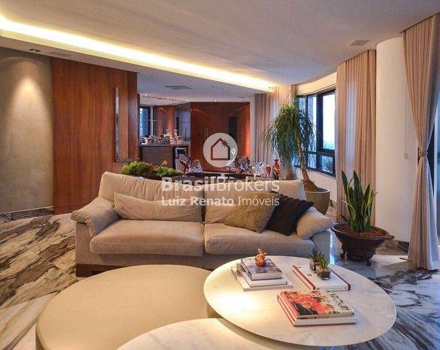 Apartamento 280 m², 4 quartos sendo 4 suítes, 4 vagas - Foto 5