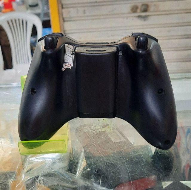 Controle de Xbox 360 seminovo original com garantia - Foto 2