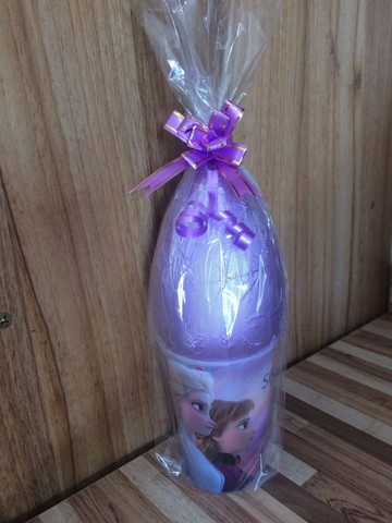 Ovos de Páscoa 250 Gramas com Copo de Personagem em Campinas * - Foto 2