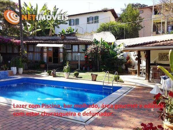 Casa à venda com 5 dormitórios em Bandeirantes (pampulha), Belo horizonte cod:449501