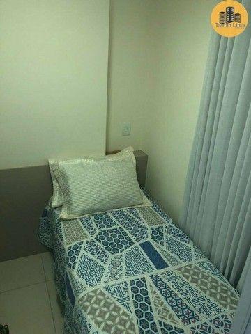 Apartamento com 4 suítes, vista mar em ´Patamares,3 vagas, Nascente. - Foto 13