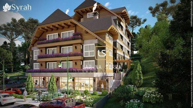 Apartamento à venda, 107 m² por R$ 728.260,47 - Lagos Do Bosque - Gramado/RS - Foto 3