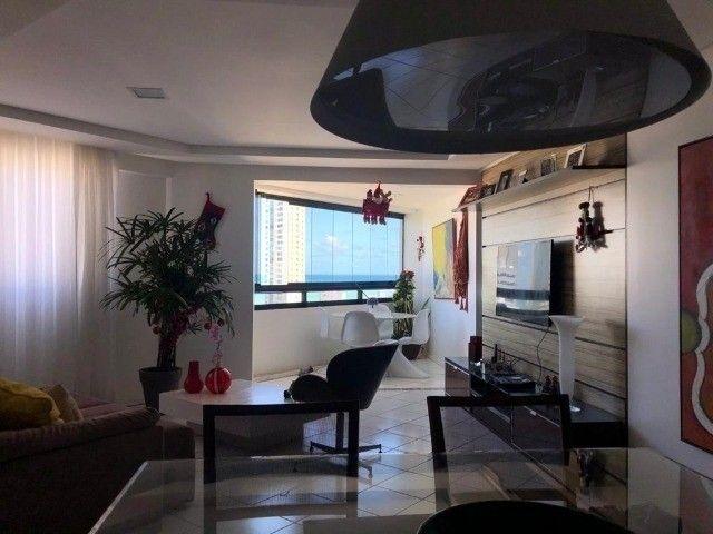 RB 074 Aparatamento todo reformado 3 quartos 128m² 2 suites 2 vagas cobertas -Boa viagem - Foto 15