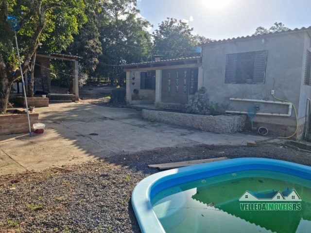 Velleda oferece 1 hectare a 5 minutos centro viamão com açude e casa, troca - Foto 10