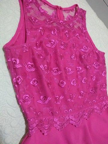 Vestido rosa de festa - Foto 2