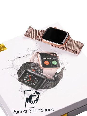 Pronta Entrega Original Smartwatch Relógio Inteligente Iwo12 Pro Série 5 44mm - Foto 5