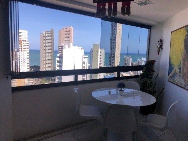 RB 074 Aparatamento todo reformado 3 quartos 128m² 2 suites 2 vagas cobertas -Boa viagem - Foto 12