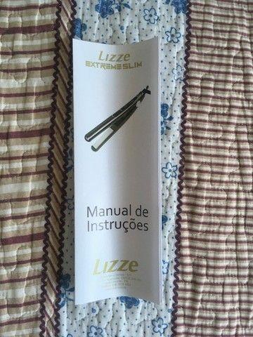 Prancha/Chapinha Lizze Extreme Slim Original C/Garantia (Parcelamos em até 12x S/Juros) - Foto 5