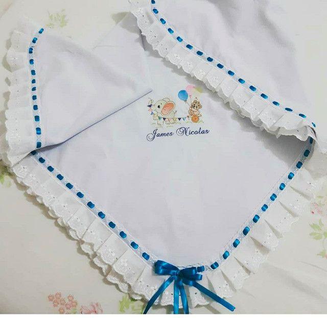 Enxoval para bebê bordados  - Foto 5