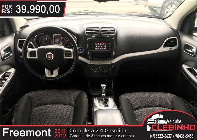 FIAT FREEMONT 2.4 EMOTION 16V GASOLINA 4P AUTOMÁTICO - Foto 9