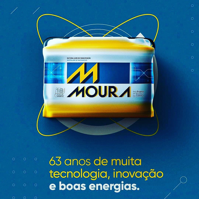 BATERIA  Moura 60 gd