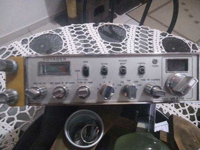 Rádio Px Voyager VR 87M com eco - Foto 3