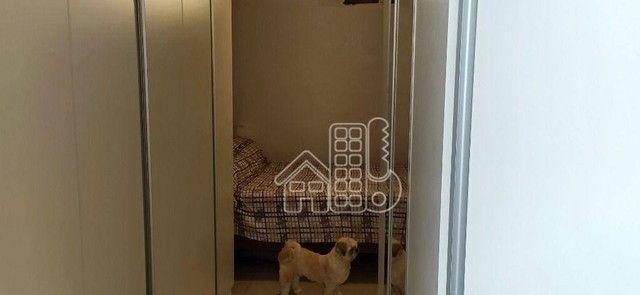 Apartamento com 3 dormitórios à venda, 98 m² por R$ 1.300.000,00 - Icaraí - Niterói/RJ - Foto 17