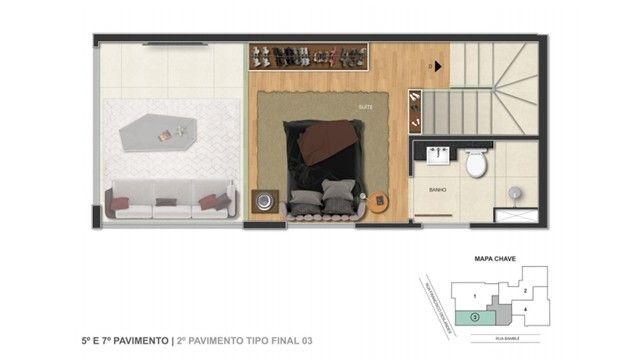Apartamento à venda, 2 quartos, 2 vagas, Anchieta - Belo Horizonte/MG - Foto 8