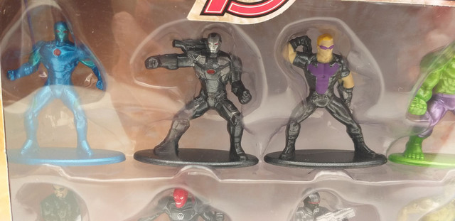 BONECOS marvel advengers nano metalfigs  - Foto 3