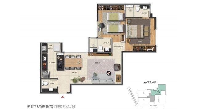 Apartamento à venda, 2 quartos, 2 vagas, Anchieta - Belo Horizonte/MG - Foto 9