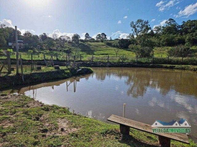 Velleda oferece 1 hectare a 5 minutos centro viamão com açude e casa, troca - Foto 2