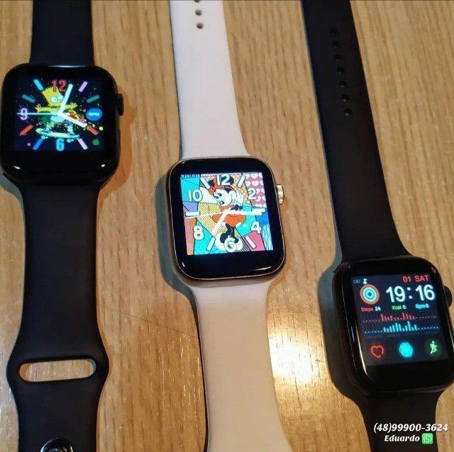 Relógio Smartwach X7 Sport Faz Recebe Ligações Ios Android   - Foto 4