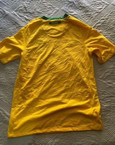 Camisa Oficial Nike (16 anos): Seleção Brasil - Foto 3