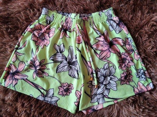 Shorts Canelados Adultos - Foto 3