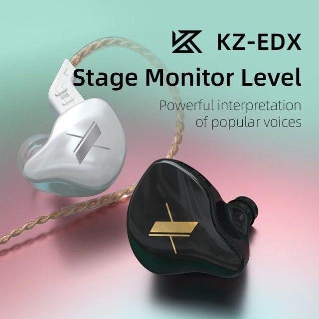Fone de ouvido KZ EDX Novo ideal para retorno - Foto 2