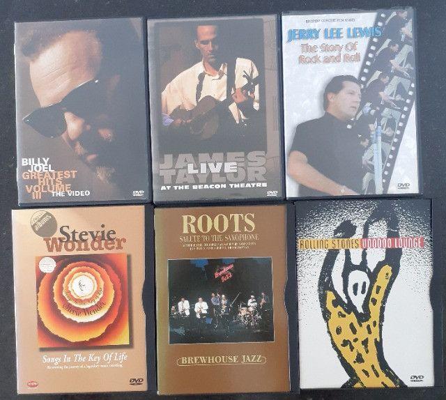 DVD's dos mais variados cantores - Foto 3