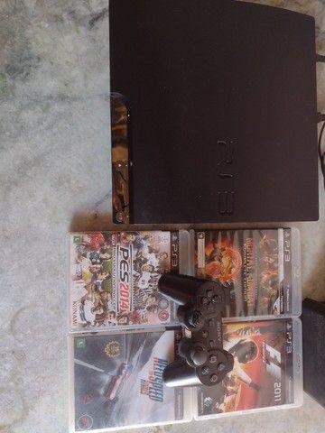 Playstation 3 Slim 160GB Black *Leia A Descrição*