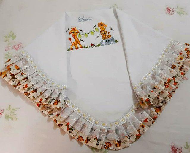 Enxoval para bebê bordados  - Foto 4