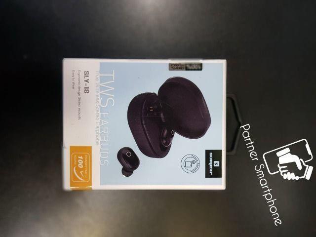 Pronta Entrega Original Fone De Ouvido Sem Fio Bluetooth Tws Airdots Earbuds SLY 18