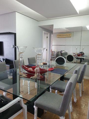 Vendo mesa de vidro com pé em laca - Foto 3