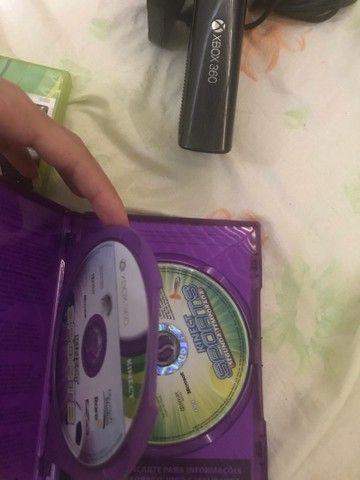 Kinect de Xbox com 3 jogos  - Foto 2