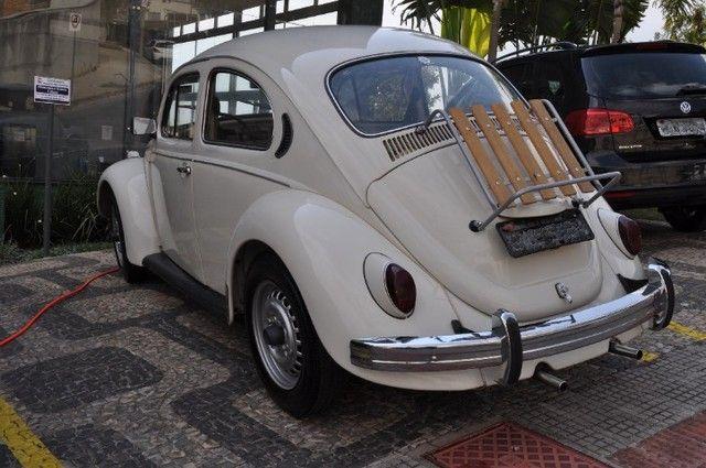 Volkswagen Fusca 79 1.300 Carro de colecionador, placa preta   Nunca foi restaurado. - Foto 6